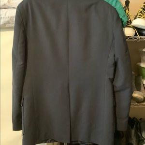 Navy blue blazer jacket